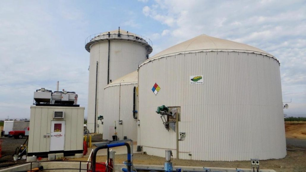 Biogas Plant - California