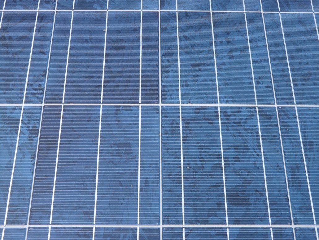 solar-cells bioenergy concept