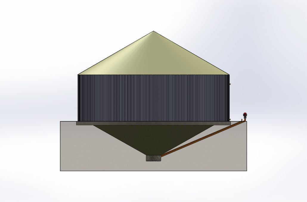 Vortex Extraction Digester bioenergy concept