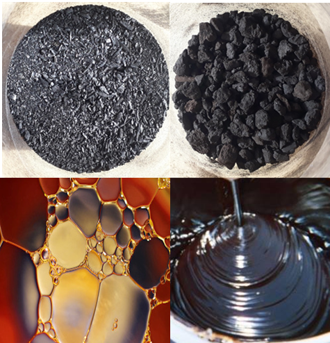 Pyrolyse Products bioenergy concept