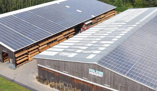 solar pannel plant bioenergy concept germany