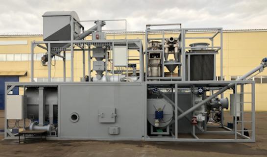 Ablative Fast Pyrolysis Prototype bioenergy