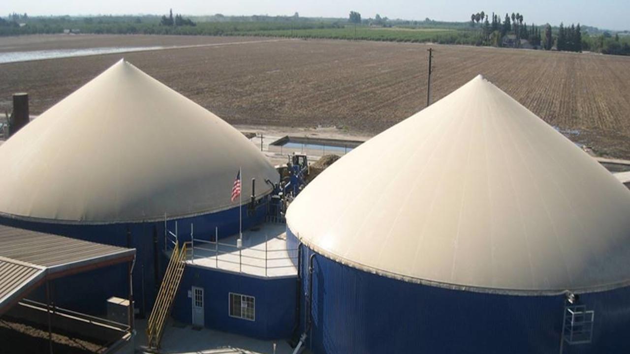 Biogas Plant California Bioenergy Concept