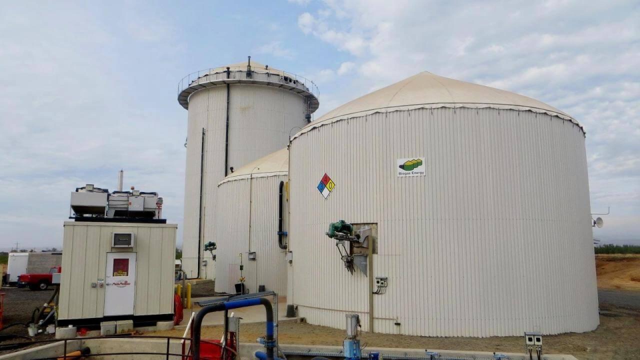 Biogas Plant - California bioenergy concept