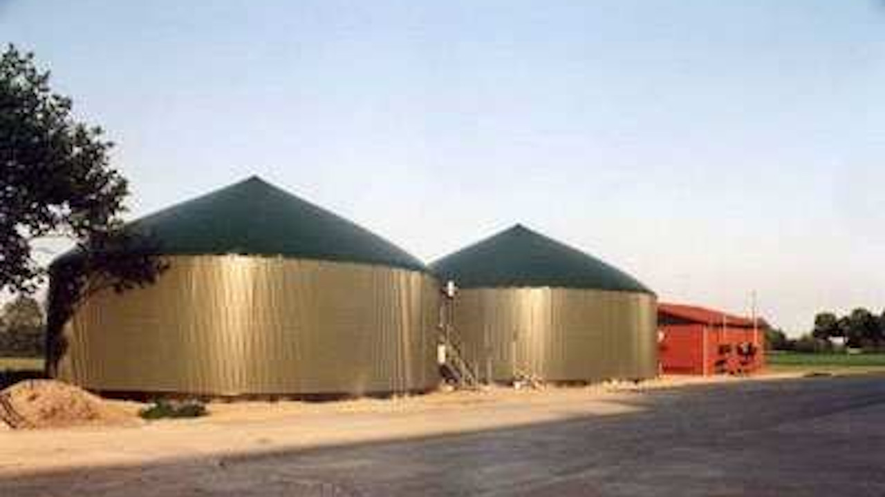 Biogas Plant Reitberg Germany Bioenergy Concept