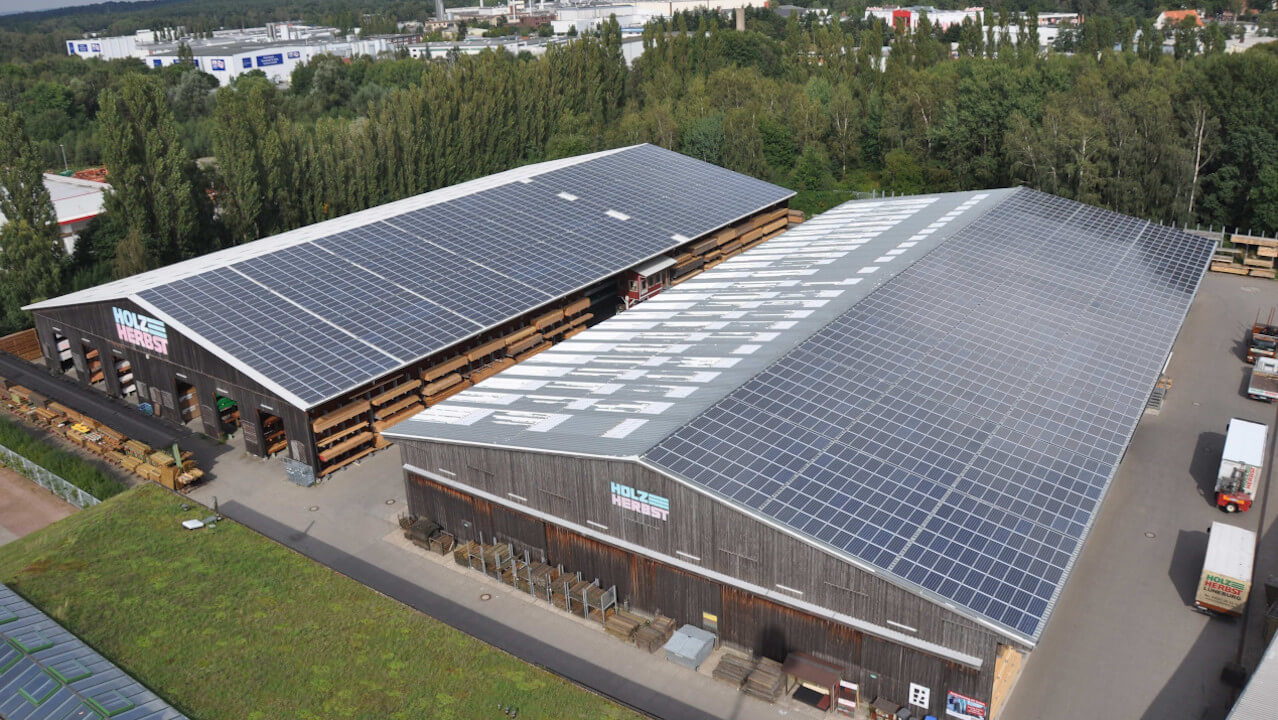 Project of bioenergy: PV plant sonnenenergie nord kg 2010