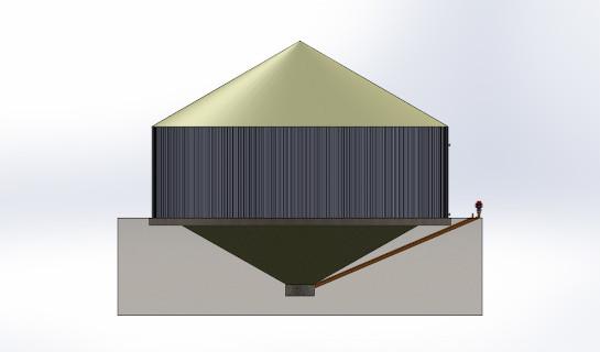 Vortex Extraction Digester concept