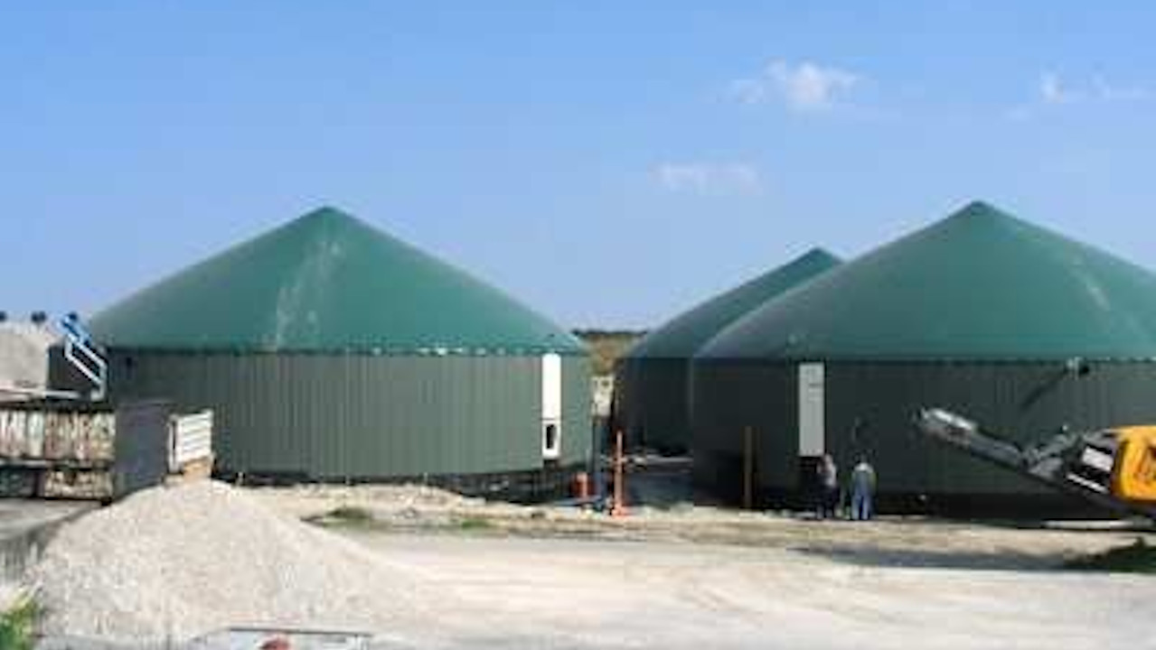 biogas plant ahden germany bioenergy concept