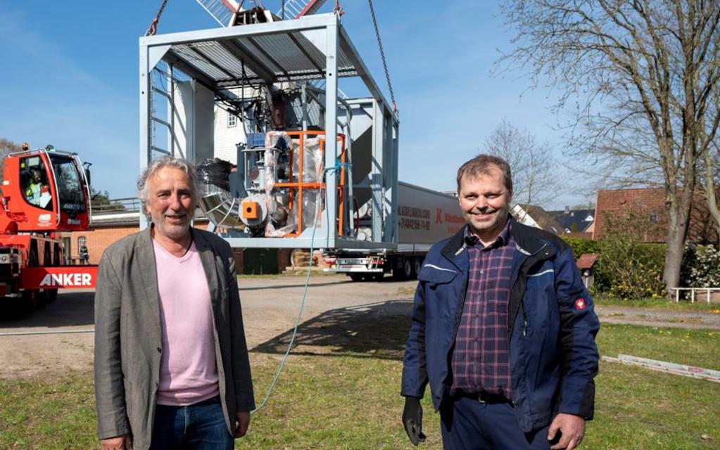 Ablative Fast Pyrolysis Plant Bioenergy concept System Lueneburg to California