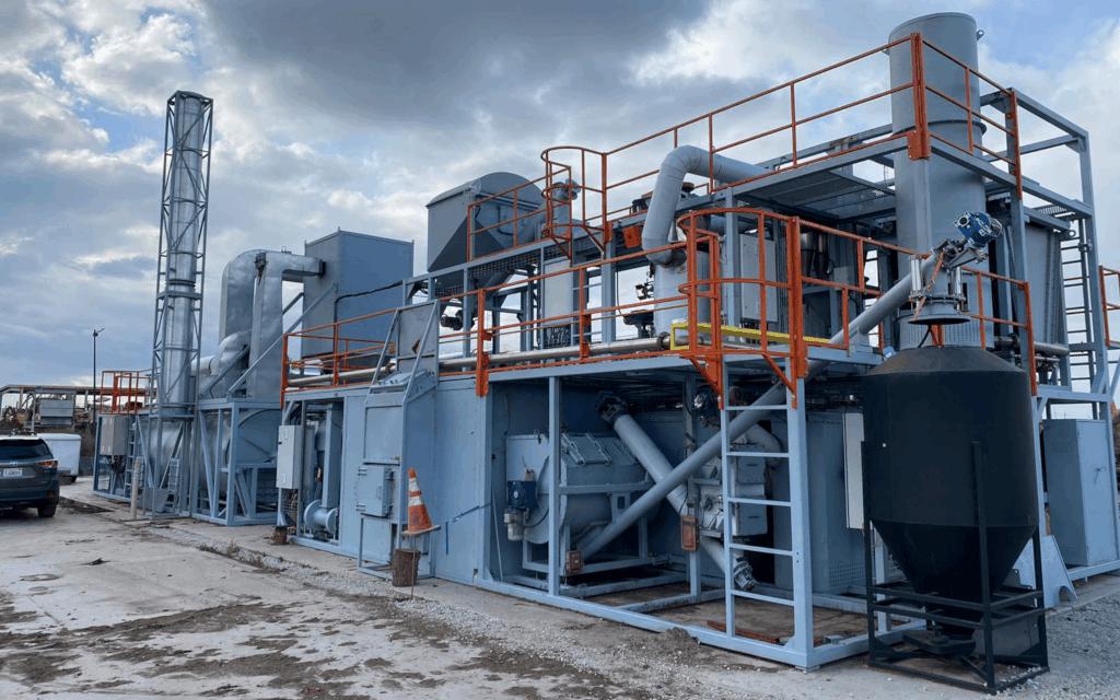 Ablative Pyrolysis Plant California Bioenergy Concept